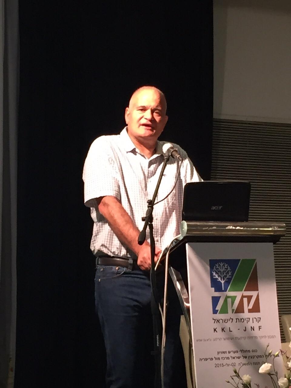 מזכ״ל תנועת המושבים ויו״ר התאחדות חקלאי ישראל, מאיר צור